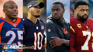 NFL Power Rankings: Should Mitchell Trubisky and A.J. Green be traded? | NBC Sports