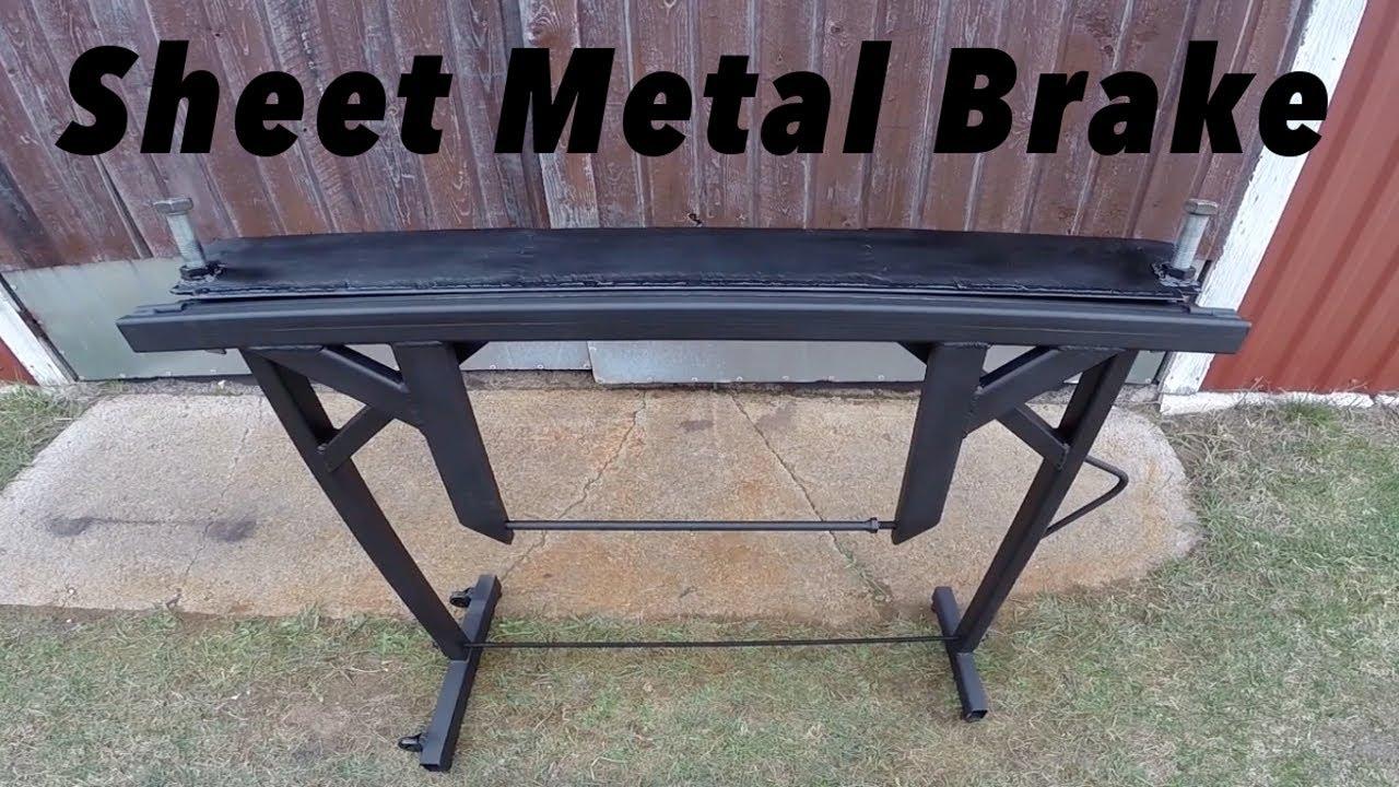DIY Sheet Metal Brake - YouTube