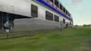 Train Sim Amtrak Megasized Superliner Cars