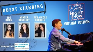 S5 Ep12 Frozen's Zoe Glick and Winter Donnelly, and Ava Nicole Frances (BroadwayWorld Next On Stage)