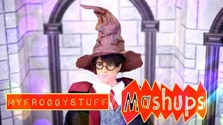 Mash Ups: HARRY POTTER - How to Make Doll Wand Shop | Wands | Hermonie | Wizard Chest & More