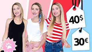 40$/30€ OUTFIT CHALLENGE!