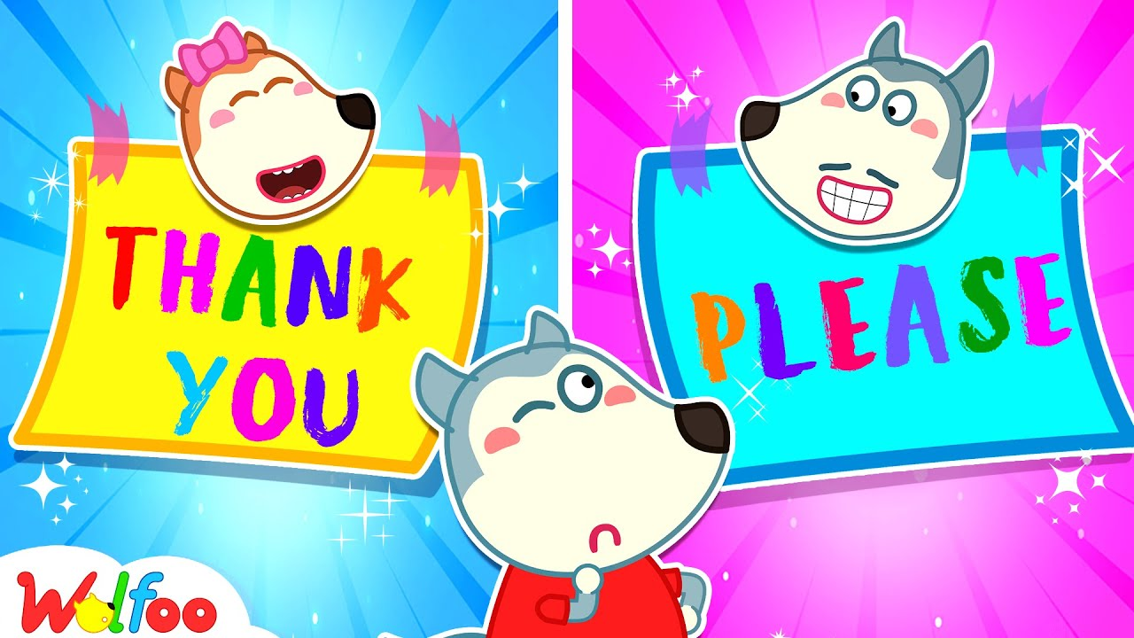 Download Wolfoo Learns to Say Please and Thank You With Dad - Learn Good Habits for Kids | Wolfoo Channel