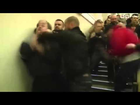 Белорусские наци пытались сорвать лекцию Старикова в Минске