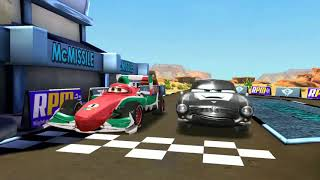Francesco Bernoulli L oses to McMissile & Shu Todoroki | Disney PIXAR CARS Race Gameplay