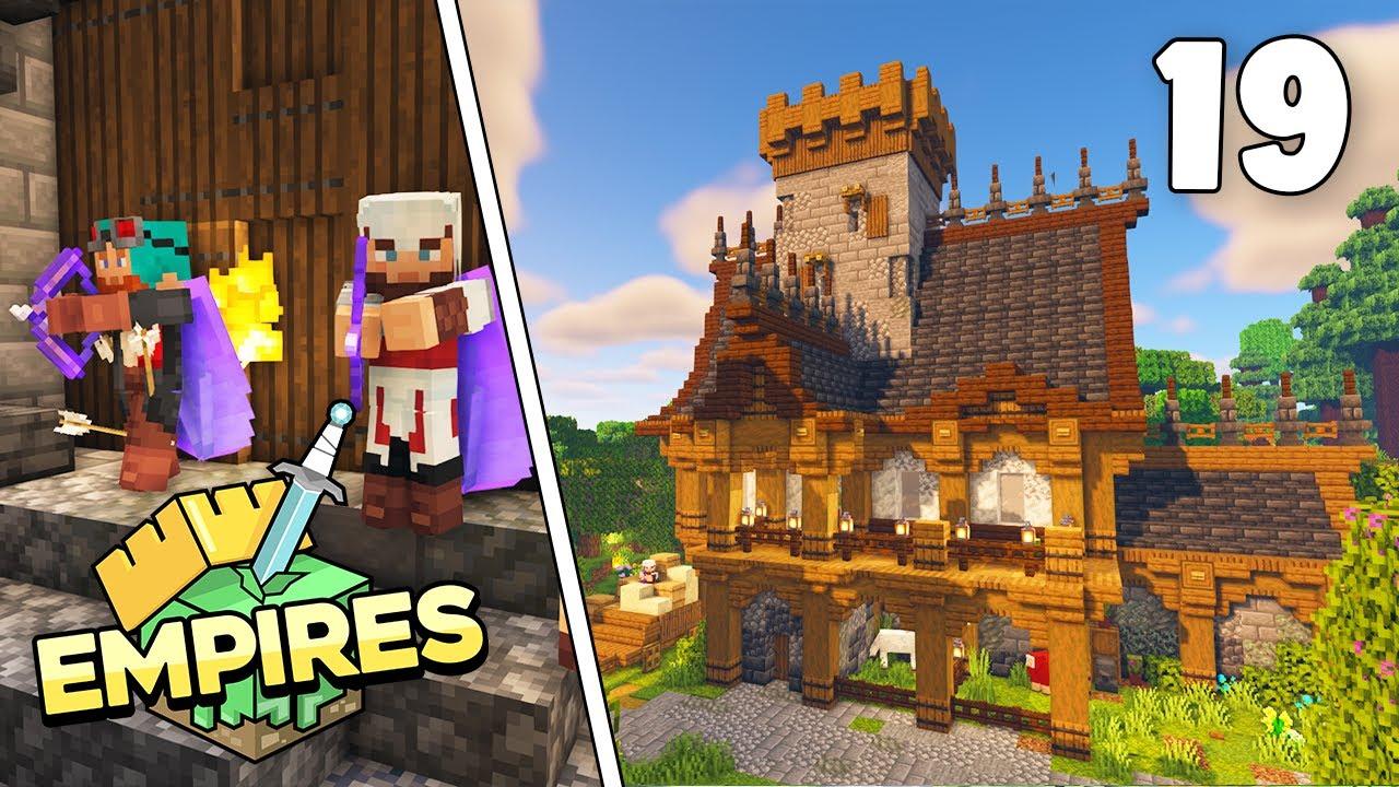 Empires SMP - ASSASSINS GUILD & DEMON ENCOUNTER! - Ep.19 [Minecraft 1.17 Let's Play]