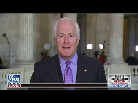 sen.-john-cornyn-on-fox:-schumer-trying-to-'hijack'-senate-trial