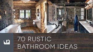 70 Rustic Bathroom Ideas