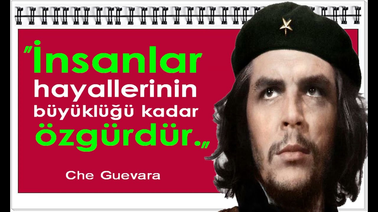 Ernesto Che Guevara Sözleri 1928 1967 Youtube