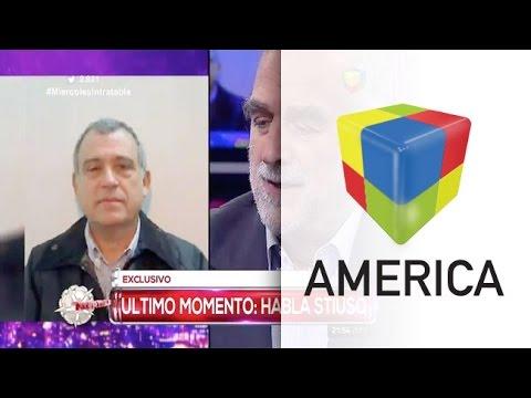 Stiuso irrumpió al aire en Intratables e intimidó a Moreno Ocampo