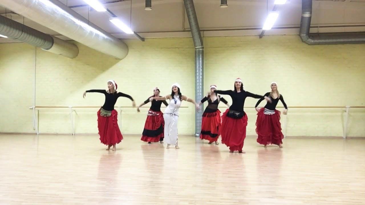 Jingle bells christmas song arabic dance - YouTube