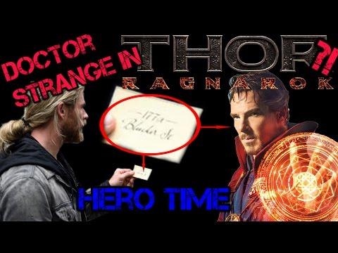 Doctor Strange meets Thor?   Thor Ragnarok   [Hero Short News]