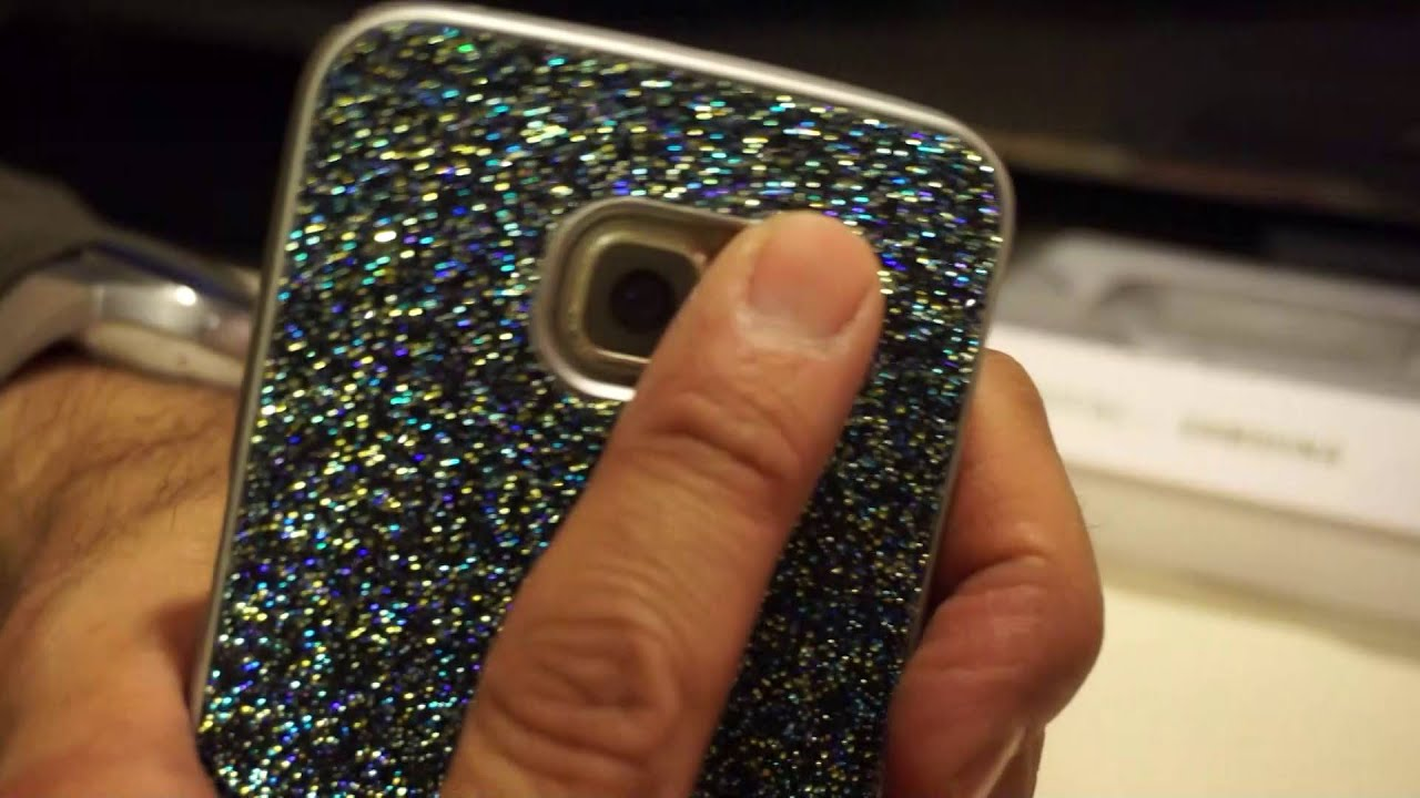 This samsung galaxy s6 edge cover guarantees a complete protection from bumps and scratches, allowing free access to the frontal panel, the hole for the.