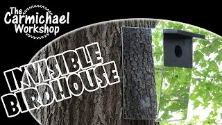 Invisible Birdhouse (2014 Summers Woodworking Contest Entry)