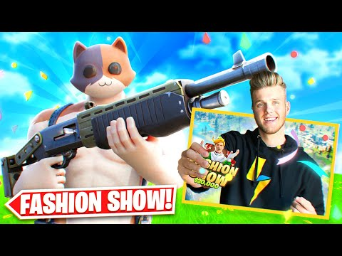 Stream Sniping Lachlan's $20,000 Fashion Show World Cup Qualifier... (Fortnite Battle Royale)