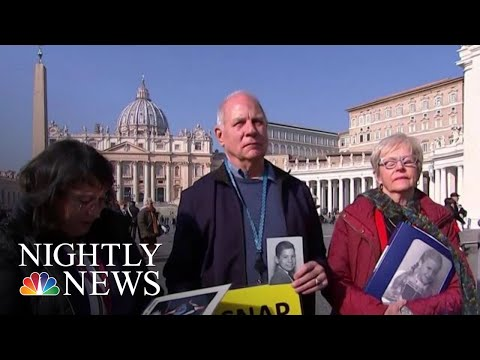 Survivors Make Their Voices Heard Ahead Of Vatican Summit On Sex Abuse | NBC Nightly News