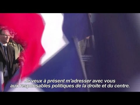 François Fillon en meeting au Trocadéro
