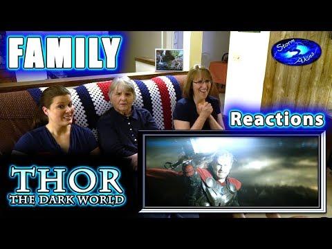 THOR 2 | The Dark World | FAMILY Reactions