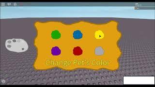 ROBLOX Pet + Color Changing GUI Test
