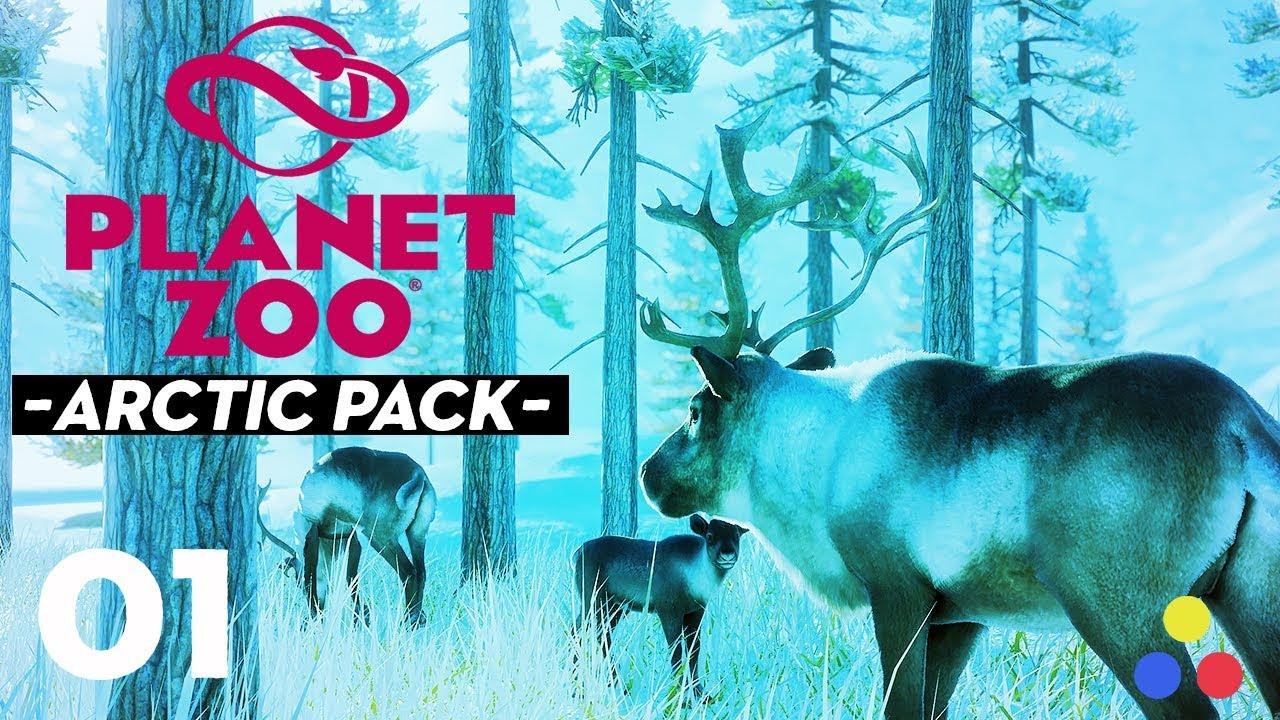 "Download Planet Zoo - ""Let's Build""   Arctic Pack DLC   Episode #1 [Jeff-Land]"