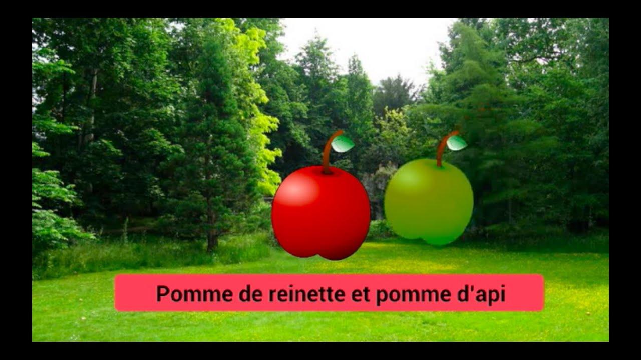 Pomme de reinette et pomme d 39 api comptine youtube - Pomme de reinette et pomme d api tapis tapis rouge ...