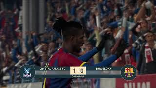 [PES 2019] Divisions en Ligne : accès D1 avec Crystal Palace (3-4-3, 30 buts marqués)