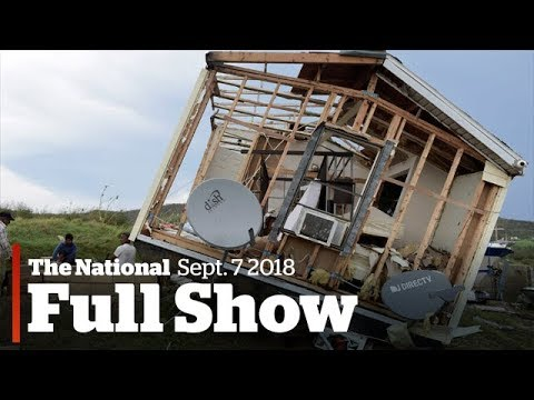 The National for Thursday September 7, 2017: Irma thrashes Caribbean, giant telescope,  ViewPoints