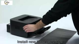 Dell 1130n Toner Cartridge Replacement - user guide 7244e