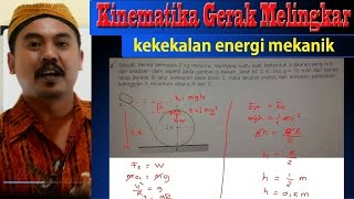 gaya sentrifugal - kekekalan energi mekanik