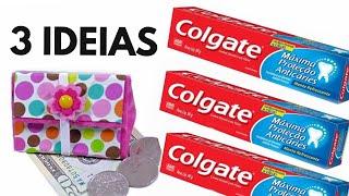 Ideias SUPER ÚTEIS com Caixa de Creme Dental