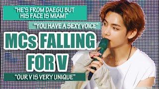 MCs falling for Kim Taehyung (BTS V)