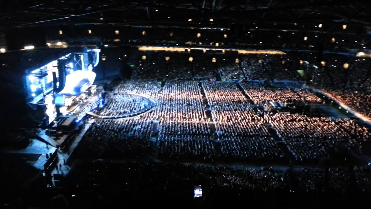 Bon Jovi Concert 2013 At ANZ Stadium Sydney Australia 3