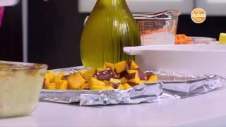 صينية كوردن بلو بالبشاميل - شوربة دجاج بالكريمة - بطاطا مشوية | مغربيات حلقة كاملة