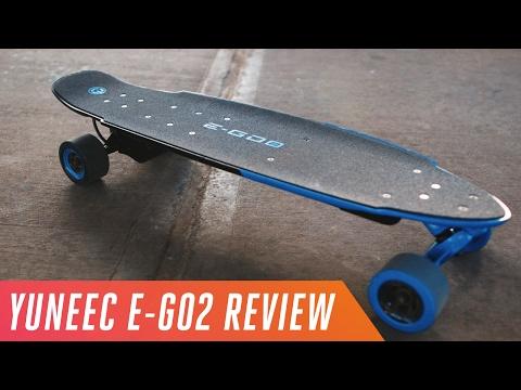 Yuneec E-Go2: a $699 electric skateboard with 18-mile range