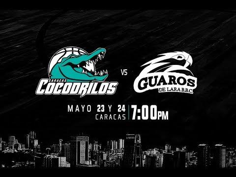 Cocodrilos de Caracas vs Guaros de Lara LPB2018 23-05-2018
