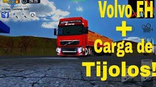 Skin Volvo FH + Carga de Tijolos - Grand Truck Simulator