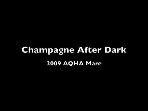 For Sale Champagne After Dark 2009 AQHA Mare