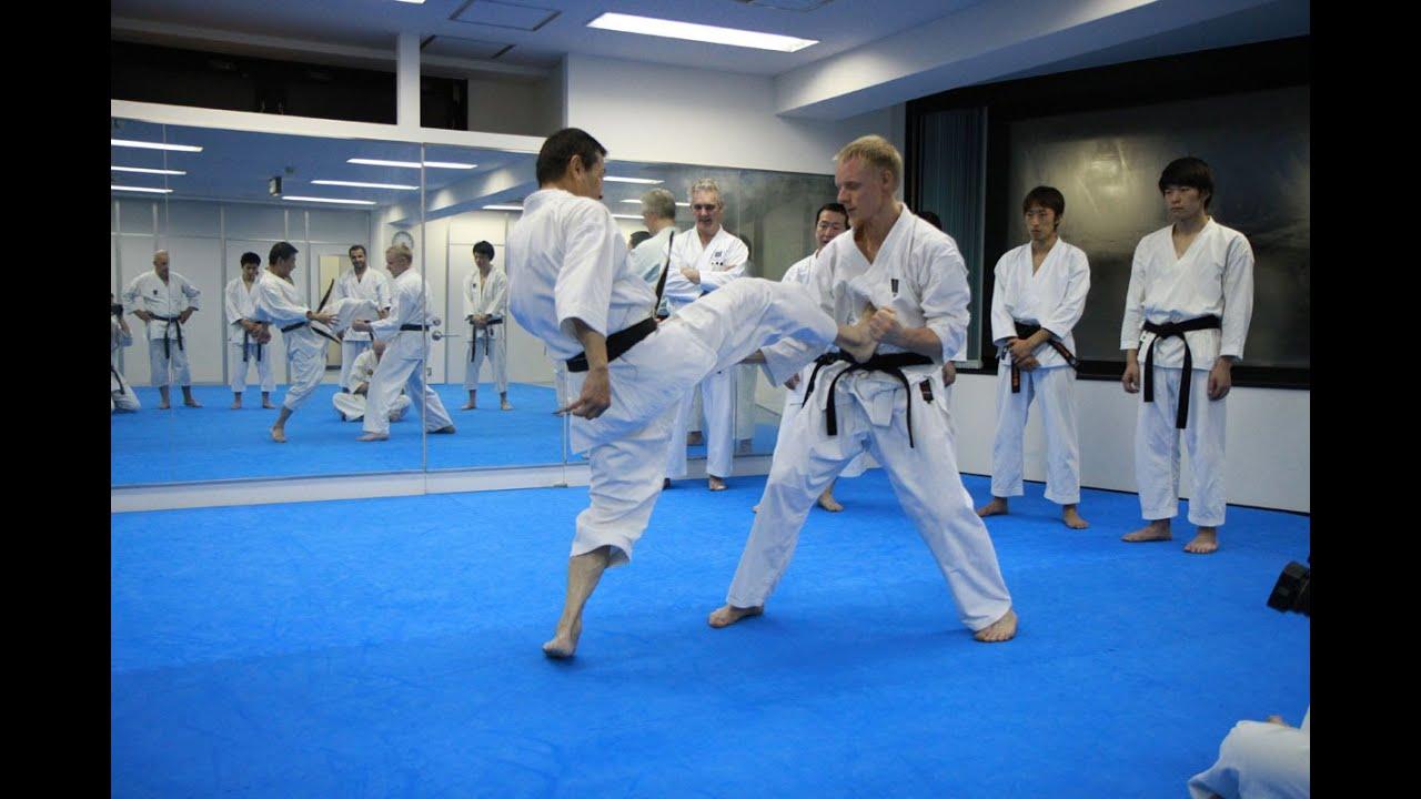 Download Mikio Yahara: Mae Geri. Training in KWF Honbu Dojo 2012
