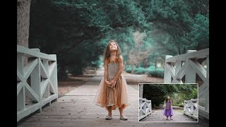 how to orange and teal effect on Photoshop cc (Hollywood movie look)