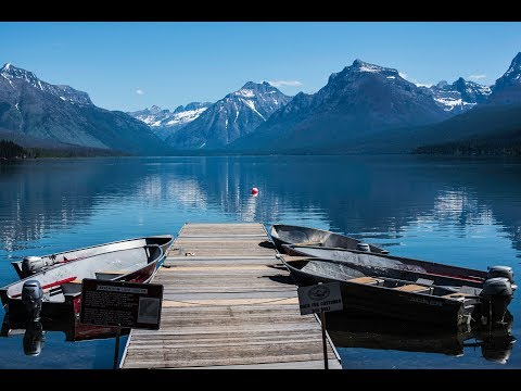 Whitefish, MT And Glacier/Waterton National Park June 2018 4k