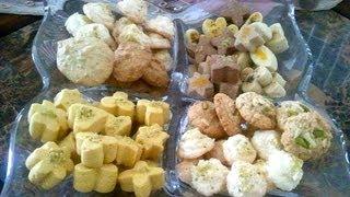 shirini khoshk انواع شیرینی خشک