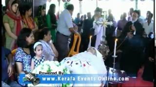 Funeral-  V.Thomas Vanchipalamthinkal Kavumbhagam Tiruvalla
