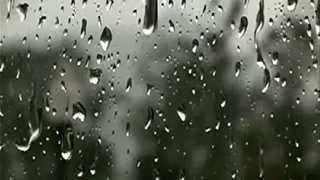 Футаж-Капли дождя на стекле