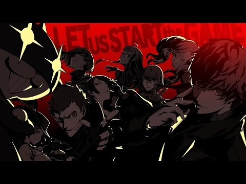 When The Persona 5 Battle Theme hits