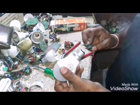LED BULB REPAIR IN HINDI