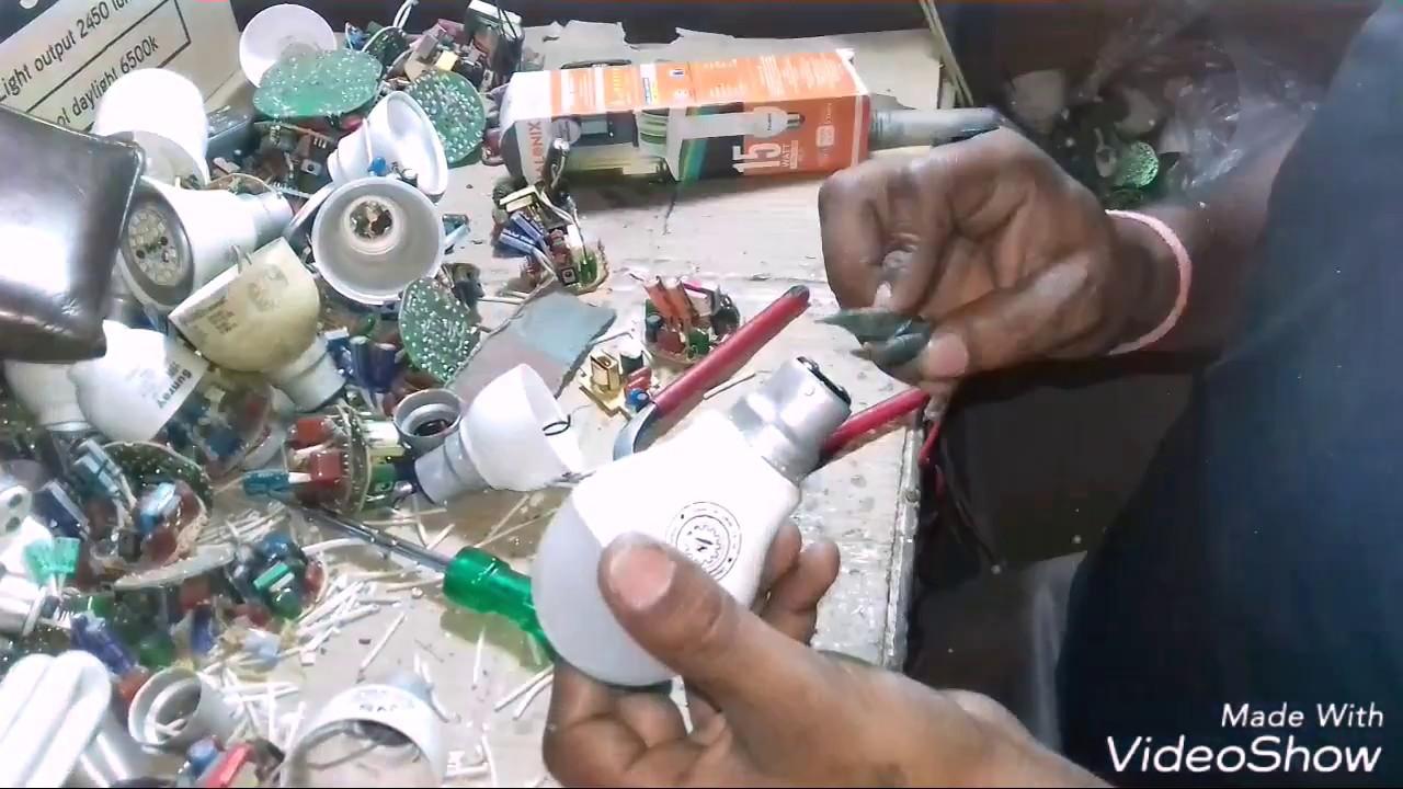 Led Bulb Repair In Hindi Youtube