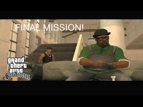 GTA San Andreas: End of The Line (Final Mission + Ending Credits) [HD]