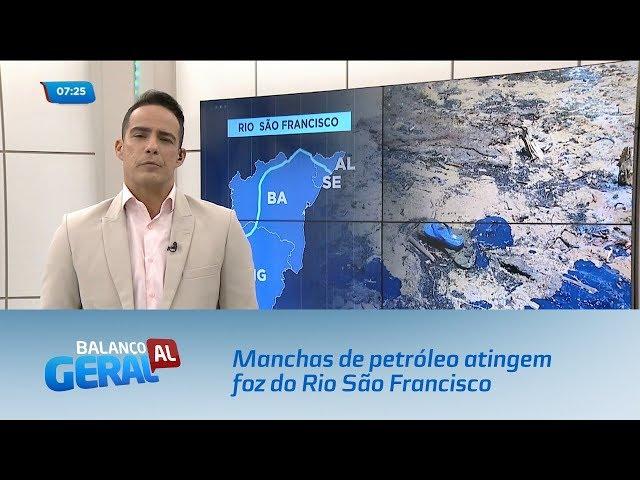 Manchas de petróleo atingem foz do Rio São Francisco