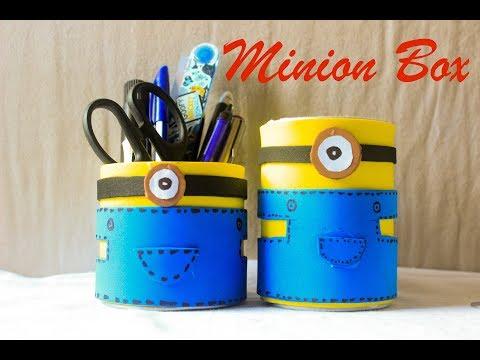 Minion Box (DIY Crafts)