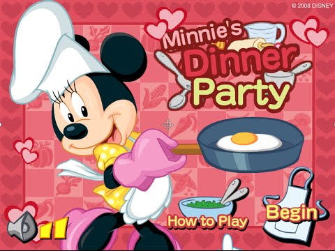 เกมส์มินนี่เมาส์ทำอาหาร Minnie Mouse.